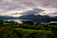 Derwentwater and Catbells from Castlehead