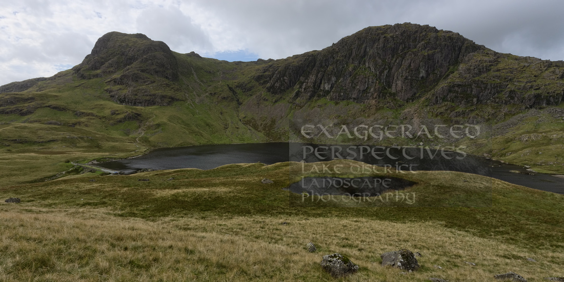Stickle Tarn from Tarn Crag Langdale