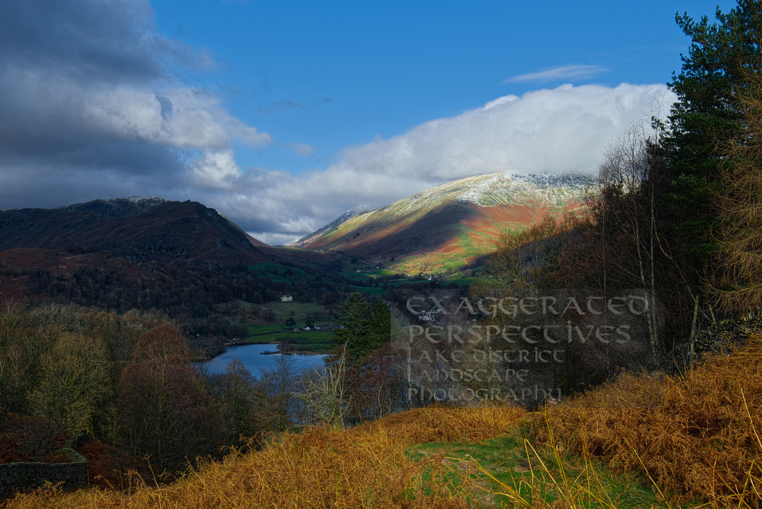Climbing away from Grasmere
