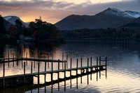 Last Rays of the Day Derwentwater