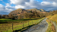 Road to Rydal Hall